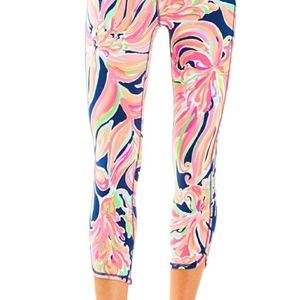 Lilly Pulitzer Banana Flambe Luxletic  leggings